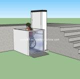 실내 주거 별장에 의하여 무능하게 하는 가정 엘리베이터