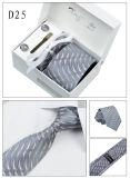 Conjuntos tejidos telar jacquar al por mayor del lazo del poliester con el rectángulo de regalo que corresponde con (D19/23/24/25)