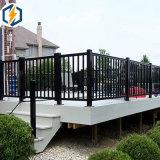 Clôture de l'aluminium à revêtement poudré OEM pour jardin