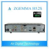 De tweeling Ontvanger PVR van Linux HD van de Tuner dvb-S/S2 Klaar Satelliet met Hevc H. 265 Zgemma H5.2s