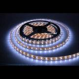 IP68 epoxi cubierta del silicio del tubo flexible impermeable 3528 SMD luz de tira