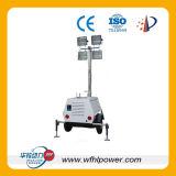 generador de la torre ligera de la construcción de la lámpara de 10kw 4X1000W