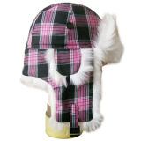 Chapéu forrado a pele morno do inverno da forma na cor agradável (VT015)