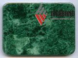 Painel composto de alumínio da qualidade superior de Ideabond (verde de Grinred)