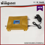 Haute qualité 900 / 2100MHz 3G 4G amplificateur de signal mobile avec antenne
