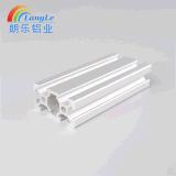 Ranura en T 6063 2040 Perfil de aluminio de extrusión de aluminio para raíl lineal