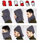 冬の人のための暖かい羊毛の帽子の帽子