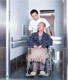 車椅子に病院で使用する1600kgベッドのエレベーター