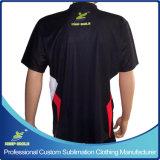 Camisa feita sob encomenda personalizada do bowling do Sublimation do projeto
