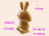 Цветастый крен силы коробки кролика (OM-PW023)