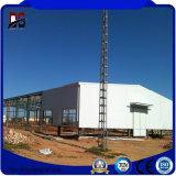 El bastidor de acero de fabricación de acero estructural de edificios para taller de almacén