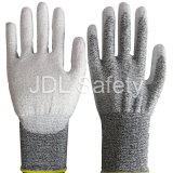 Отрежьте упорную перчатку работы с PU (PD8023)