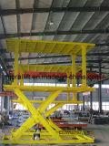Approbation CE de voiture de garage de relevage hydraulique