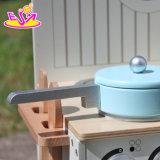 Großverkauf-Kind-hölzernes Minispielzeug-Küche-Spiel gesetztes W10c213