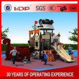 De in het groot Plastic OpenluchtApparatuur van de Speelplaats, de Comfortabele Speelplaats van Kinderen