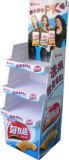 Le stand d'étage d'étalage de carton de carton ondulé pour composent la mémoire utilisée