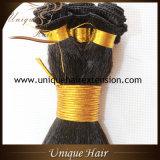 Trame de cheveu de Remy attachée par main