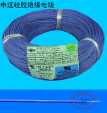 Alambre a prueba de calor flexible 18AWG del caucho de silicón UL3135