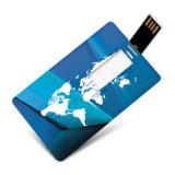Épaisseur de la carte de visite professionnelle de visite d'USB 4GB 0.18cm