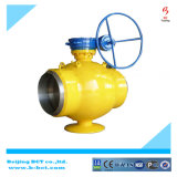 Válvula de bola excêntrica tipo flange, corpo de ferro Ductil Bct-E-BV03
