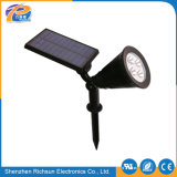 Indicatore luminoso esterno del giardino solare del Polysilicon 1.5With5.5V LED del PVC IP65