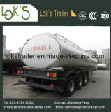 Трейлер топливозаправщика 30 Axles Cbm 3 тепловозный