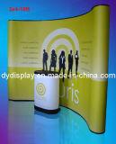 Barra magnética de PVC pepinos curvos Shape suporte da tela pop up (PU-01-A)