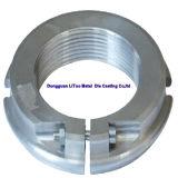 Aluminium Druckguss-Stecker mit CNC-Maschinerie fortfahren