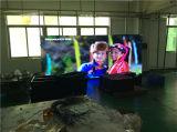 Alta muestra a todo color de alquiler de la exhibición de LED de Denifition P10