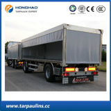 Tela incatramata durevole impermeabile del tessuto del PE del fornitore della Cina per il coperchio del camion
