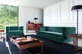現代古典的なソファー3のSeaterのソファーファブリックソファー