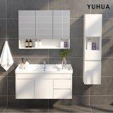 Muro de melamina moderno cuarto de baño con espejos (YH-VC5004)