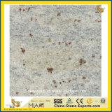 Tache pourpre Cachemire dalle de granit blanc pour les escaliers et un comptoir/plancher