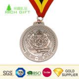 Il metallo poco costoso su ordinazione del rifornimento della fabbrica ha impresso le medaglie placcate di rame antiche del premio di sport degli S.U.A. di marchio