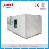 A água do ar condicionador de ar da unidade embalada no Último Piso