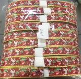 El ancho de cinta de tejido de 1.2cm personalizados cinta tejida