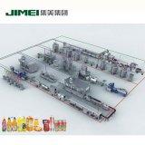 Boisson de jus d'usine de traitement automatique de ligne de production de machines