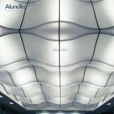 2018 China proveedor material de construcción de muro cortina de aluminio del panel de techo