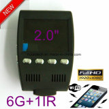Neuer 2.0 voller HD1080p Auto-Gedankenstrich-Flugschreiber mit WiFi für Handy, 5.0mega Sony Auto DVR, Nachtsicht-Gedankenstrich-Digital-Videogerät, WiFi Parken-Steuerkamera