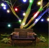 屋外の庭の経路のヤードの装飾ランプLEDストリングライト