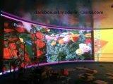 広告のための曲げられたスクリーンP6屋内LED表示