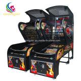 De muntstuk In werking gestelde het Ontspruiten van het Basketbal van de Machine van het Vermaak van de Arcade Machine van het Spel