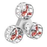 Batterie rechargeable Flying Fidget jouets Fidget gros ABS Tri part Spinner