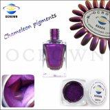 Pigmento del cambiamento di colore dello specchio del bicromato di potassio della polvere del pigmento del Chameleon per la vernice del chiodo