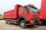 Sinotruk HOWO Dumper Heavy Truck caminhão de caixa basculante com 336-420HP
