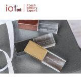 Cadeaux populaires cristal de 4 Go Lecteur Flash USB avec logo personnalisé