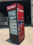 Einzelne Glastür gekühlte Schaukasten-Bildschirmanzeige für Coco-Farbe