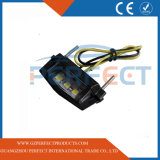 기관자전차 소형 LED 수 번호판 빛 번호판 테일 빛
