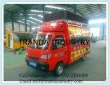 ガラス繊維の販売のための電気移動式食糧車