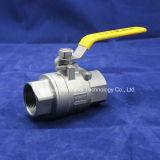 Motor 3PC Válvula de bola con rosca NPT 4-20 Control de la MH